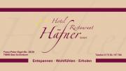 iba Duales Studium - Hotel Häfner GmbH - gegr 1976 -